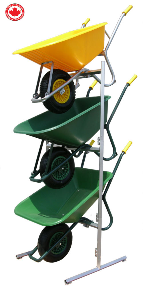 Tufx Wheelbarrow Display Stand